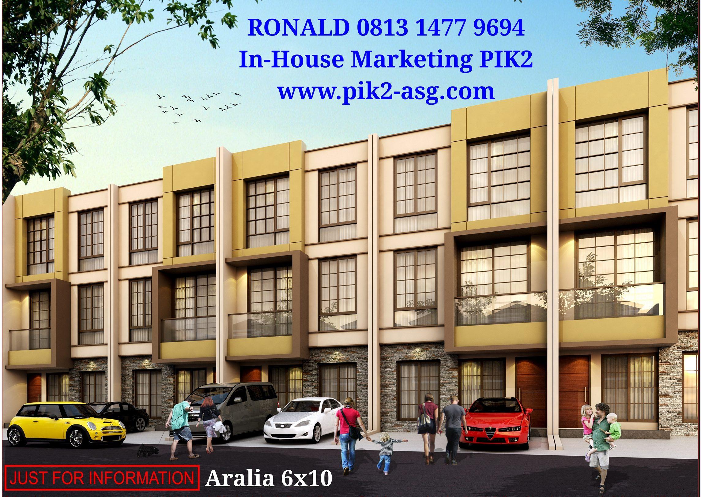 ARALIA 6X10 (3 LANTAI)